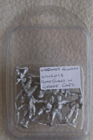 Wargames Foundry 28mm WW2013 Home Guard in Forage Caps